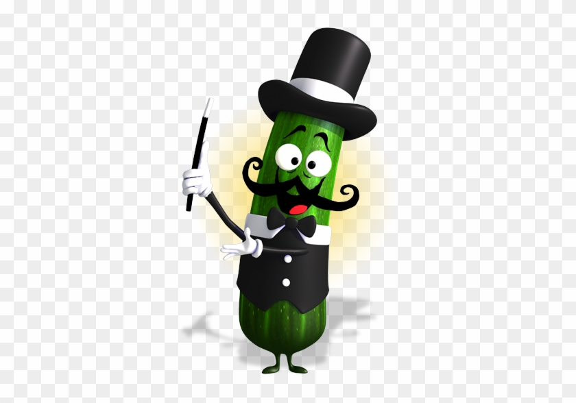 I Am Bok Choy A Crisp, Cool Vegetable With Green Leaves - Zucchini Character #572047