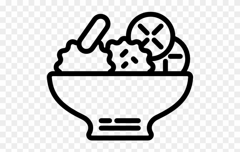 Dinner Menu - Salad Icon #572072