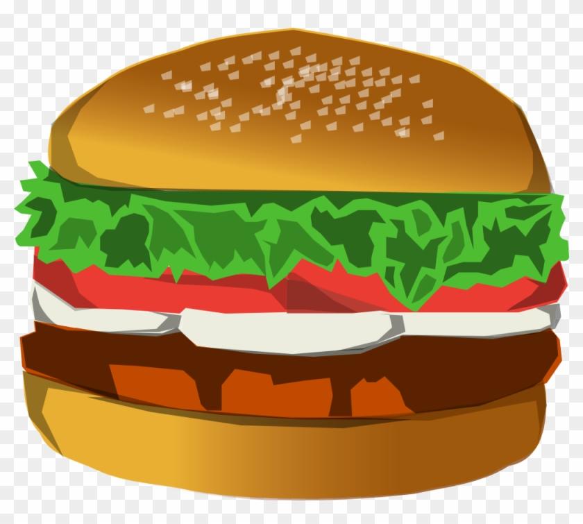 Burger Pictures Clip Art - Burger Clip Art Png #572076