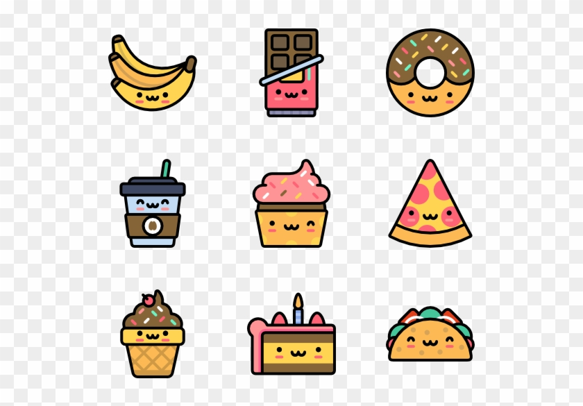 Cute Food - Cute Icons Png #572081