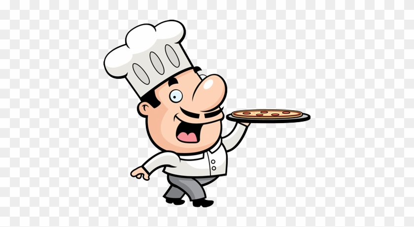 Walk In, Take Out, Delivery, & Catering - Chef Cartoon Clipart #572094