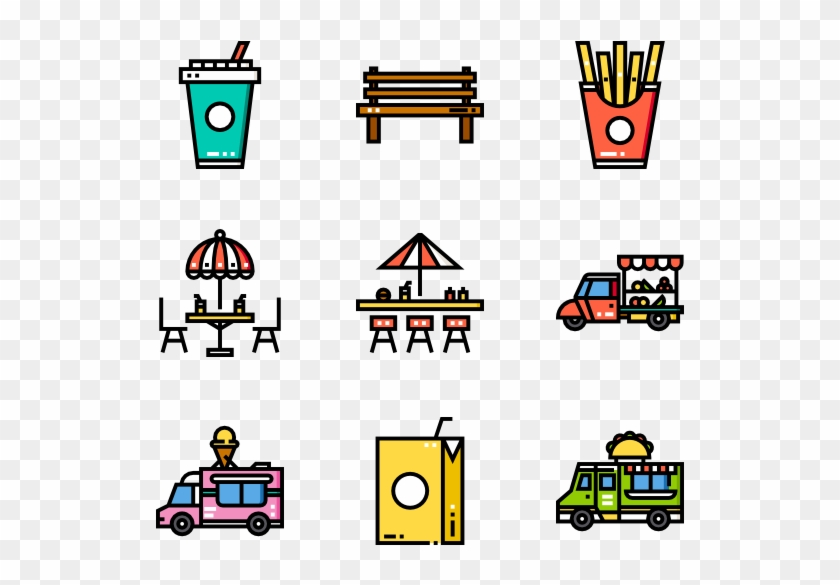 Food Truck - Foodtruck Icon #572119