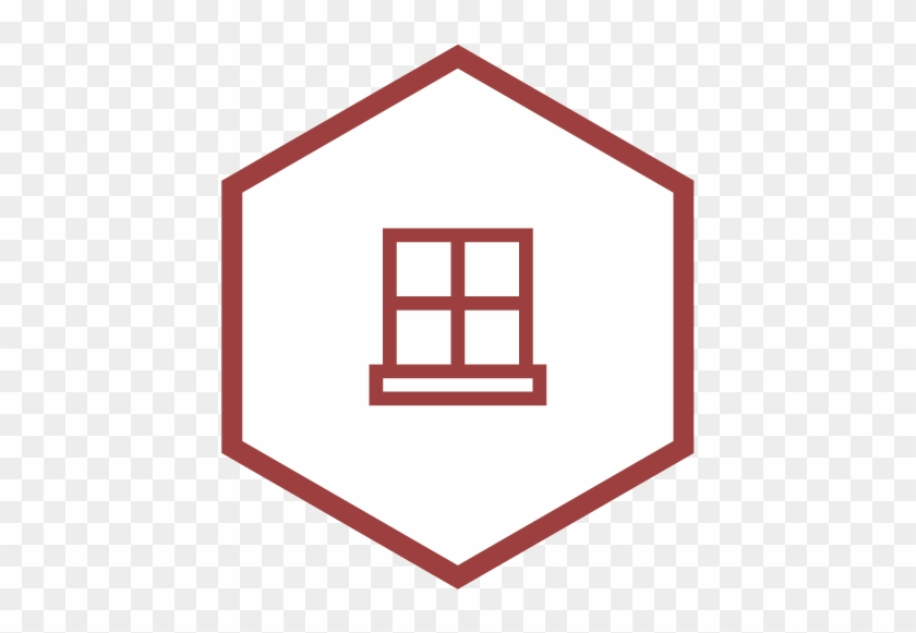 Windows - House Template For Applique #572274