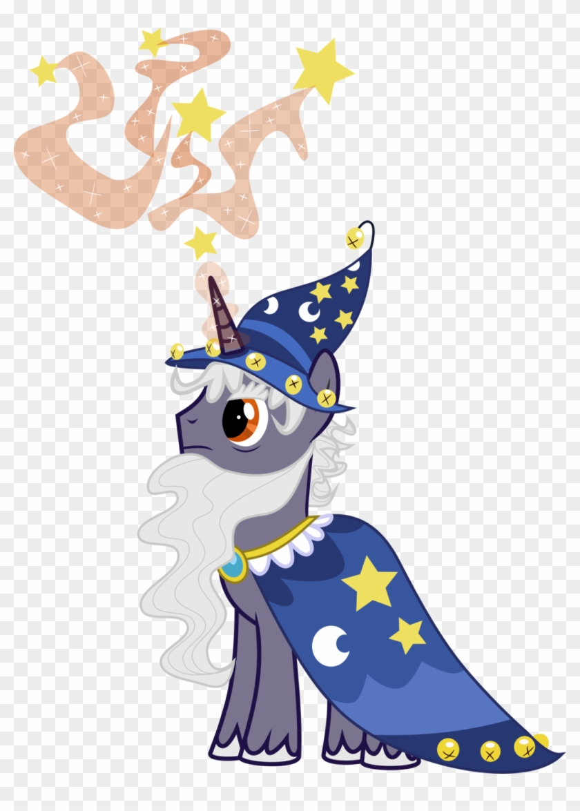 Star Swirl The Bearded Mlp Vector #572294
