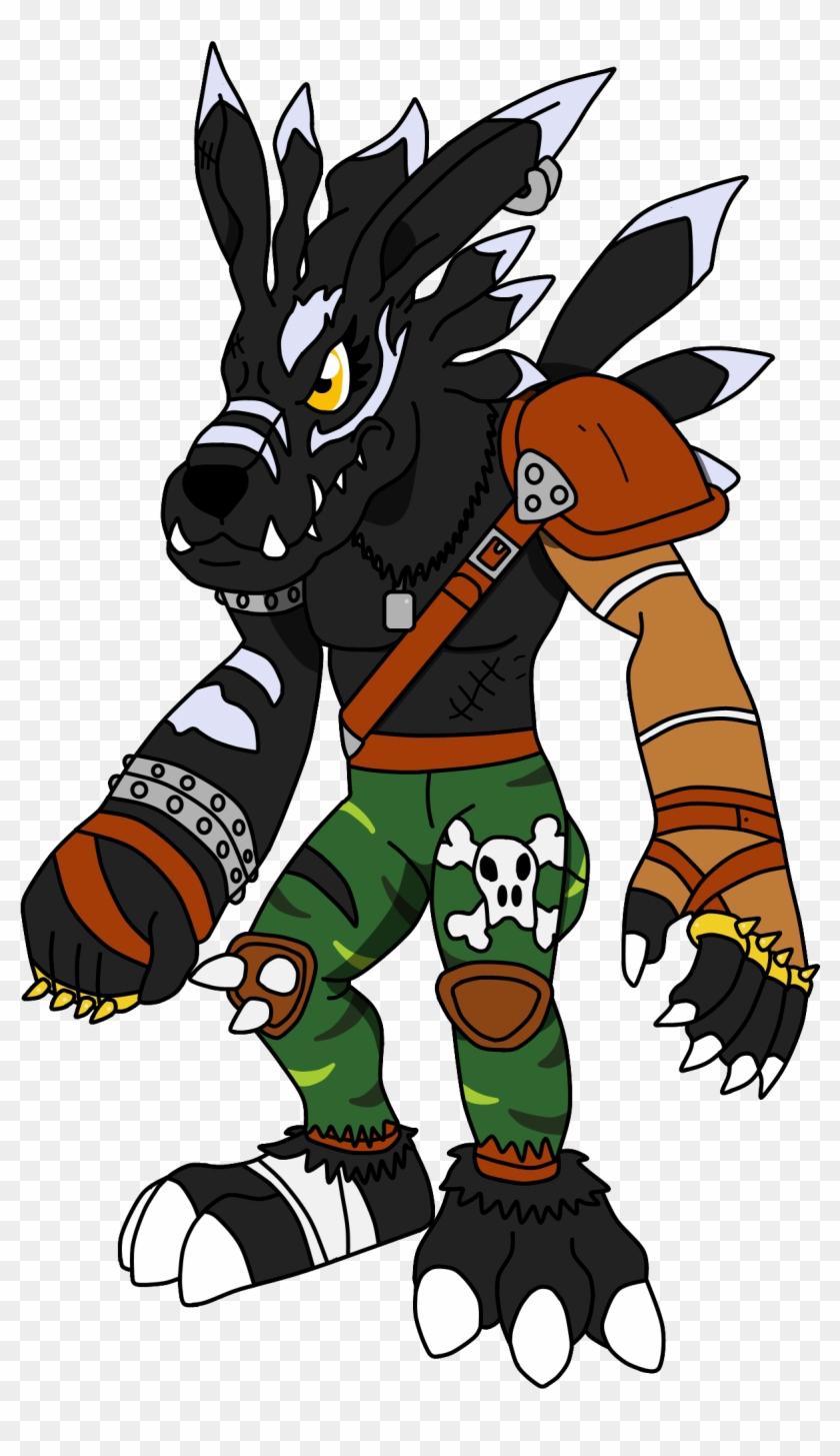 Lilymu 1 0 Shadowweregarurumon By Cryoflaredraco - Shadowweregarurumon #572302