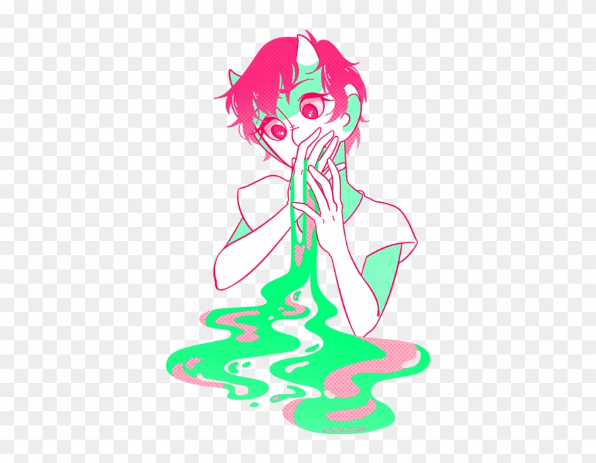 The Colors And Everything Just Omg So Beautiful - Pastel Goth Gore Art #572313