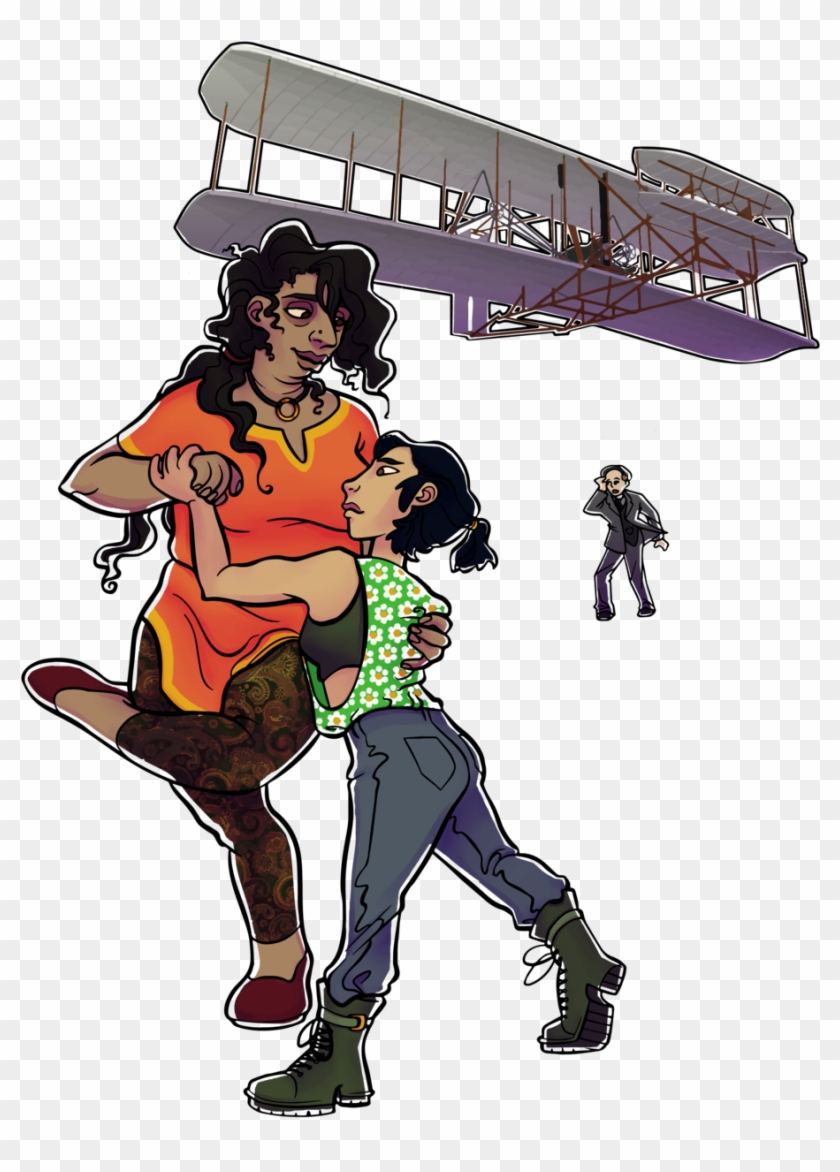 Wright Flyer Couple - Wright Flyer Couple #572317