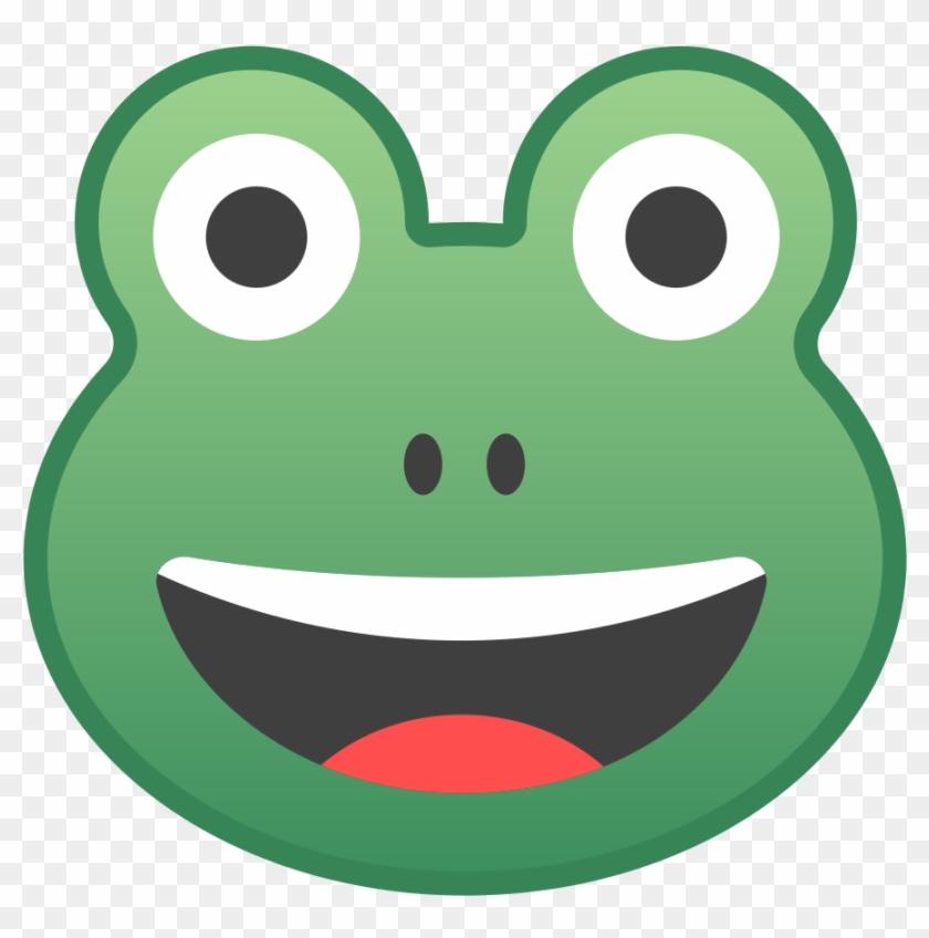 Security Cartoon Frog Face Icon Noto Emoji Animals - Android #572432