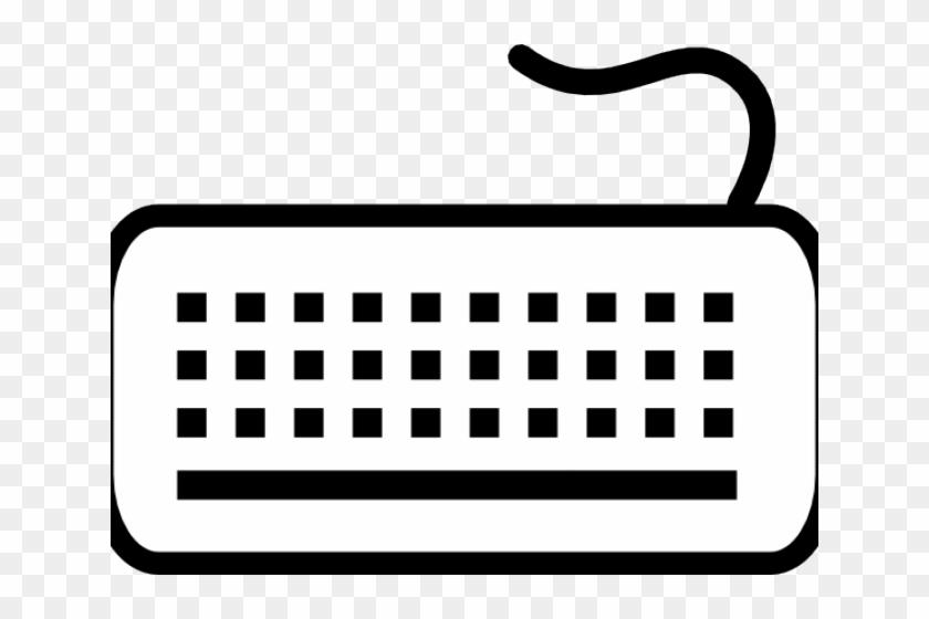 Keyboard Clipart - Keyboard Clip Art #572497