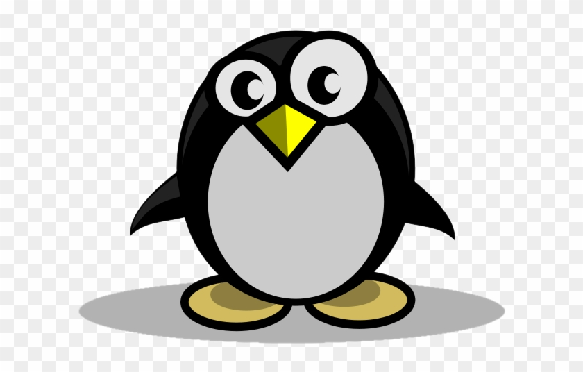 Penguin Clipart Round - Adã©lie Penguin #572501