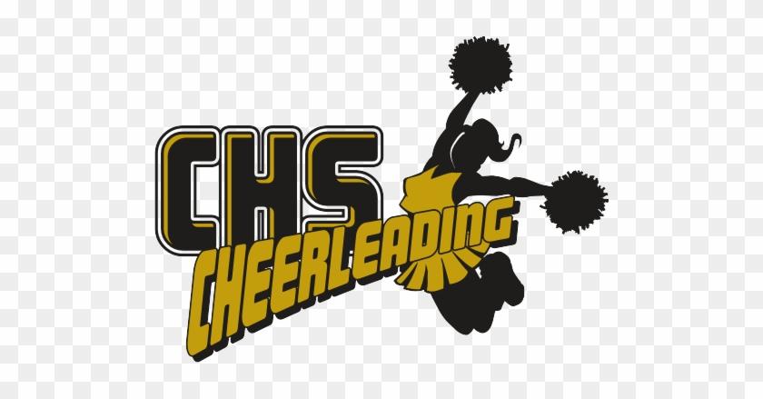 Cheerleading Glitter Graphic Dwight Hauff Sports - Cheer Design #572522