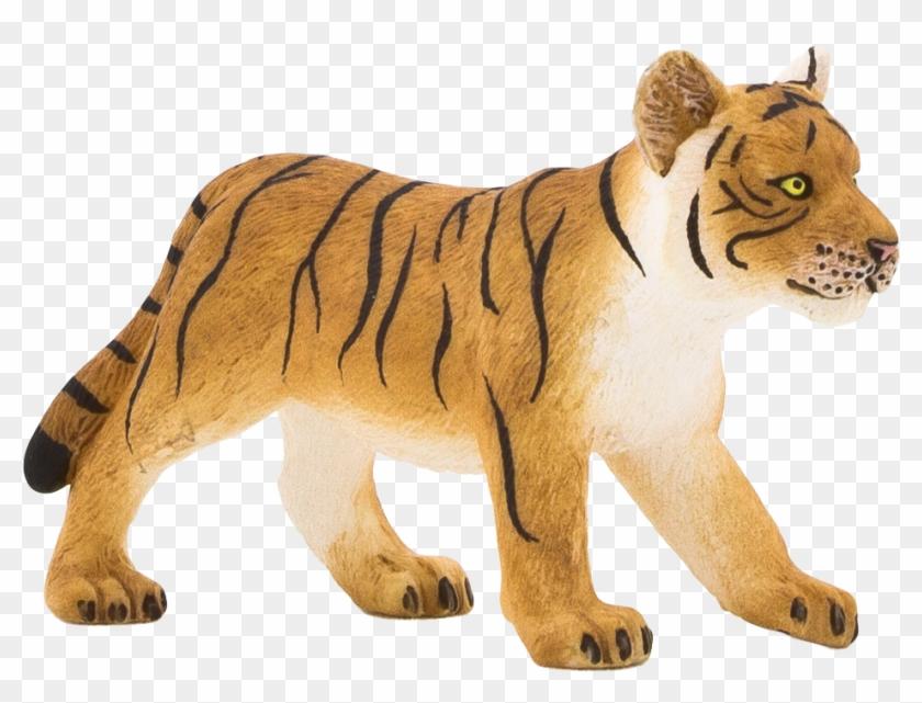 Tiger Giant Panda Bear Animal Figurine - Animal Planet - Tiger Cub Standing #572552