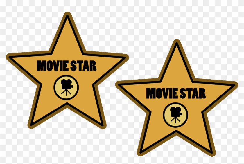 Name A Famous Actor Whose First And Last Names Both - Hollywood Walk Of Fame Star Clipart #572750