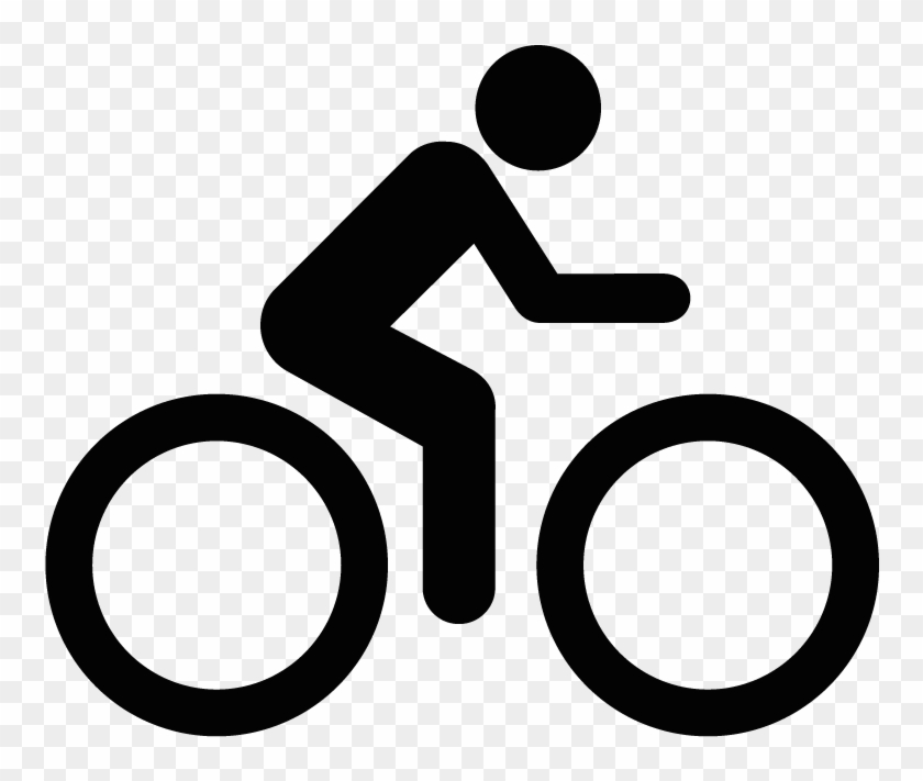 Bicycle Road Cycling Icon Person On Bike Diagram Free