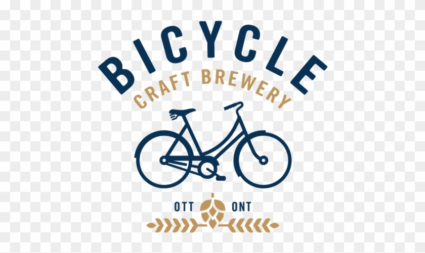 Navy T-shirt By Bicycle Craft Brewery - Vancouver Sea Lions Logo #573233