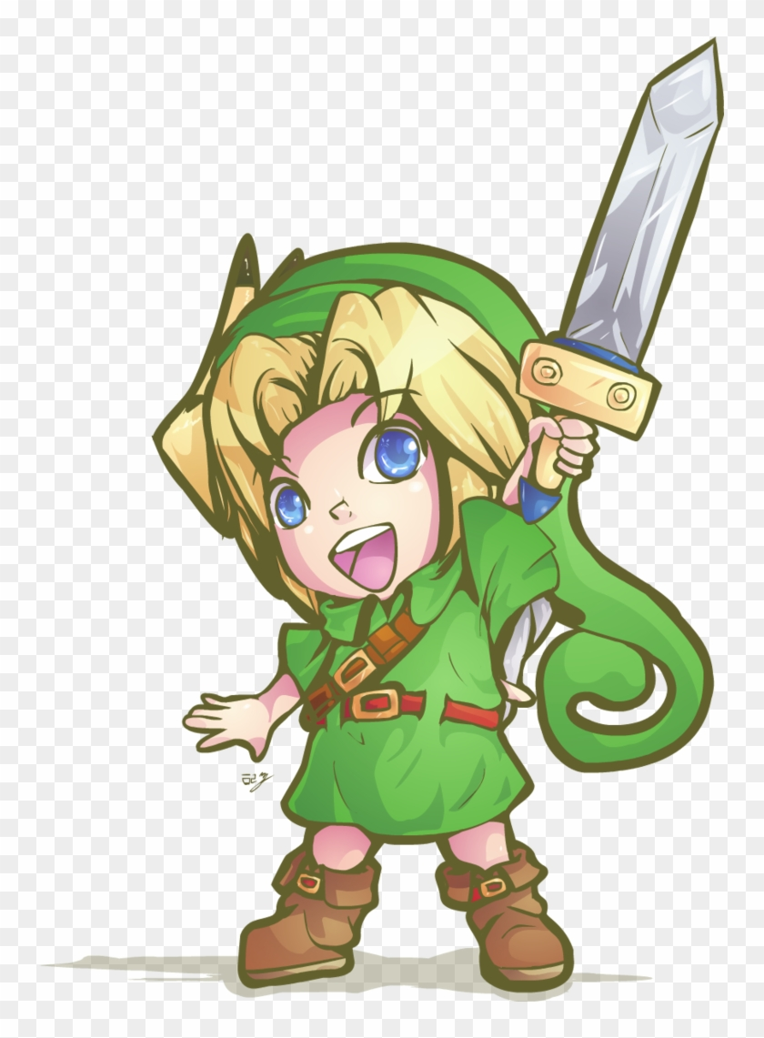 Hyrule Warriors Young Link By Lady Of Link Hyrule Warriors Young Link Fanart Free Transparent Png Clipart Images Download