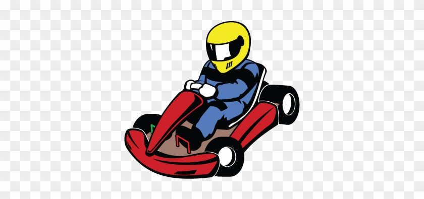 Have A Family Day Out - Drive A Go Kart Clipart #573406