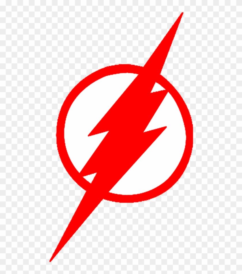 Stunning Ideas Red Lightning Bolt Logo - Flash Dc Comics