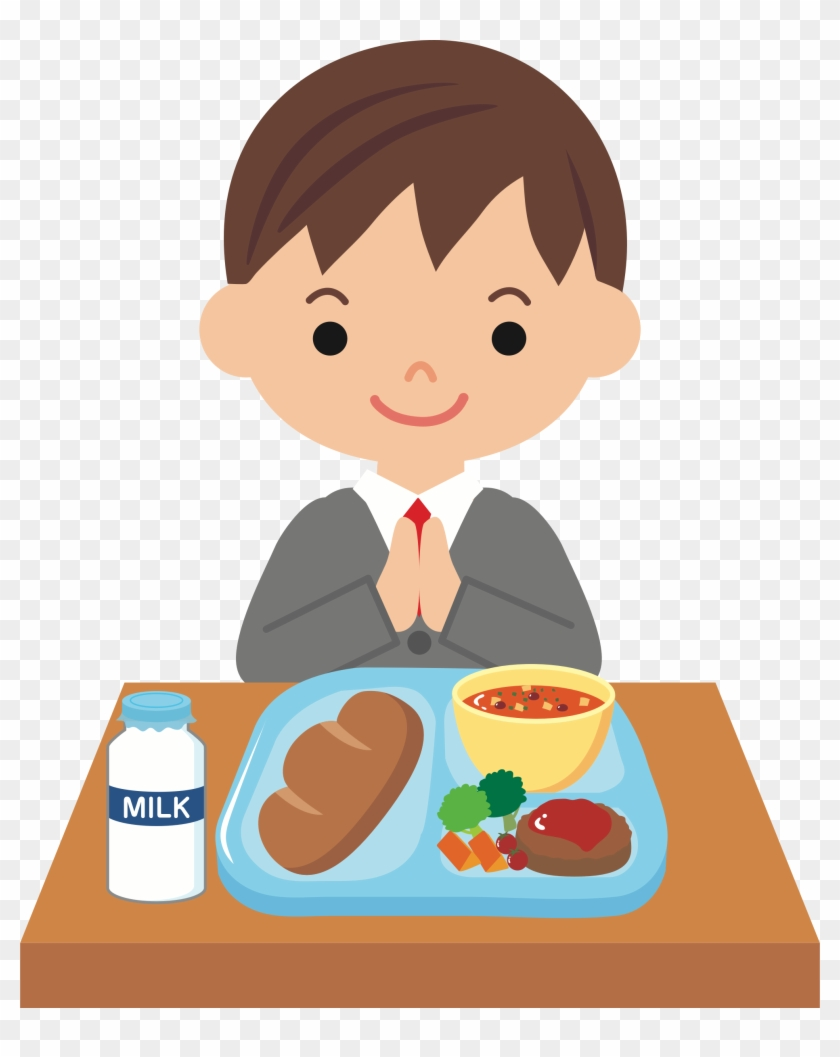 Kids Eating Snack Clipart - Eating Lunch Clipart - Free Transparent PNG  Clipart Images Download