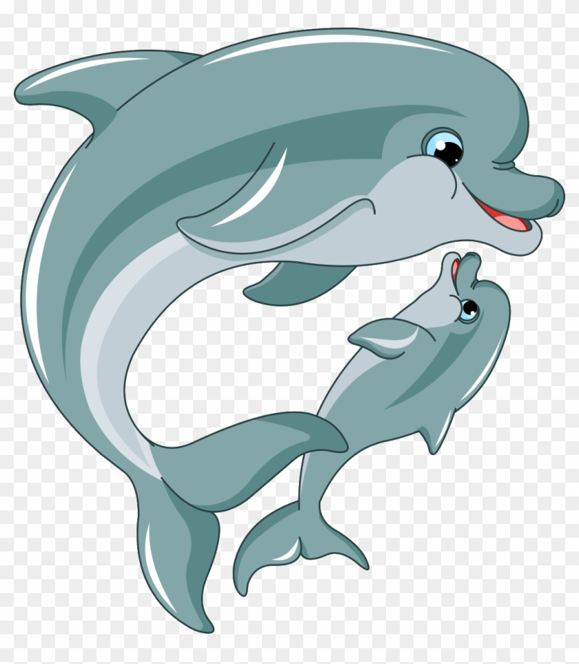 Buy The Royalty Free Stock Vector Image Cartoon Sea Dolphin Cartoon Png Free Transparent Png Clipart Images Download