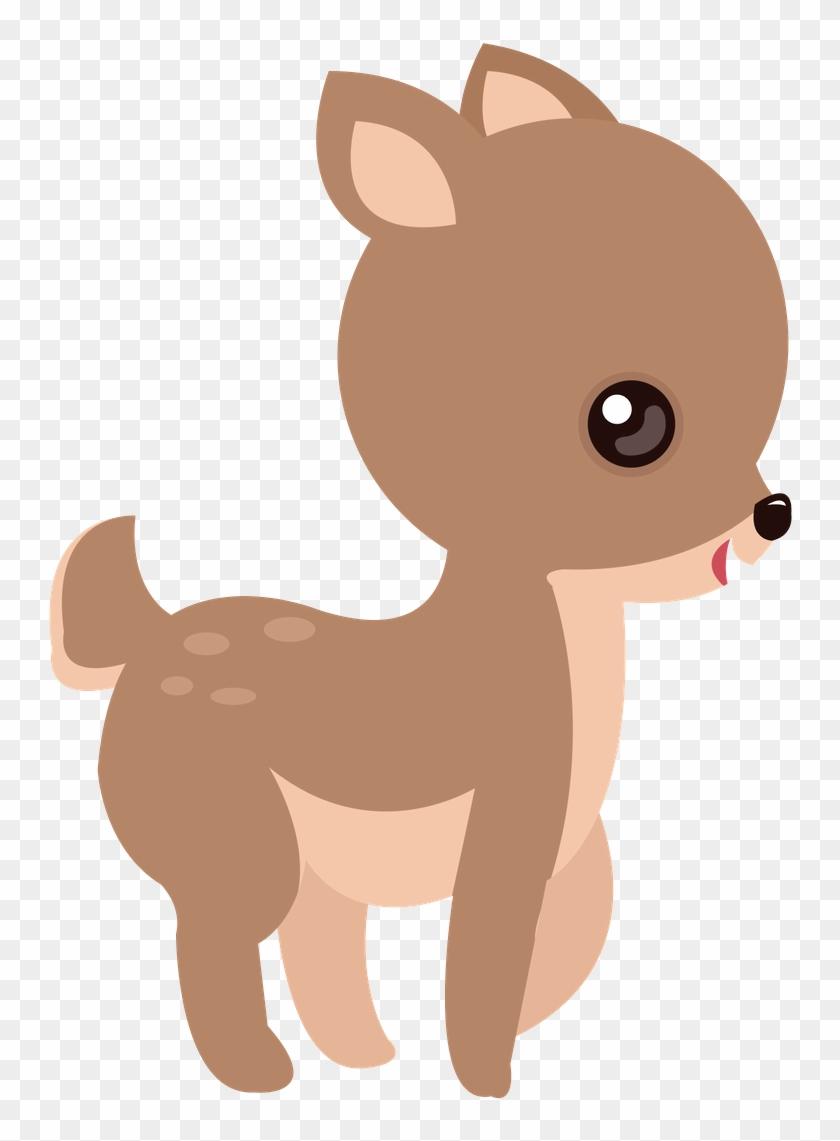 branca de neve cute veado animal 01 baby deer clip art free