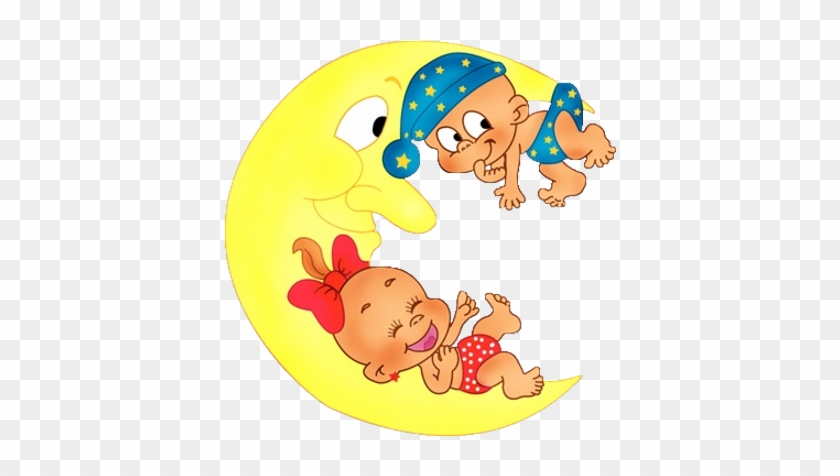 Funny Cartoon Baby Clipart - Cute Baby Girl And Boy Cartoon #575021