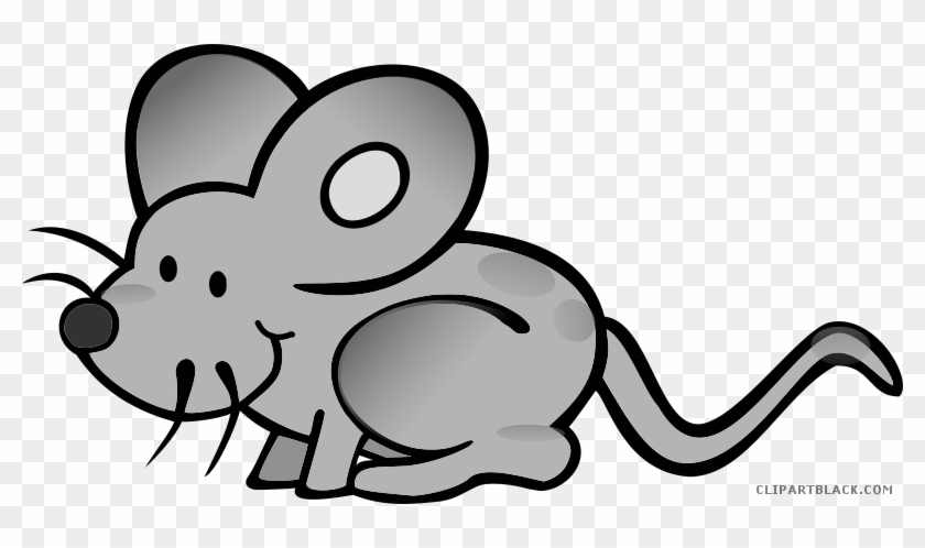Grayscale Mouse Animal Free Black White Clipart Images Mickey