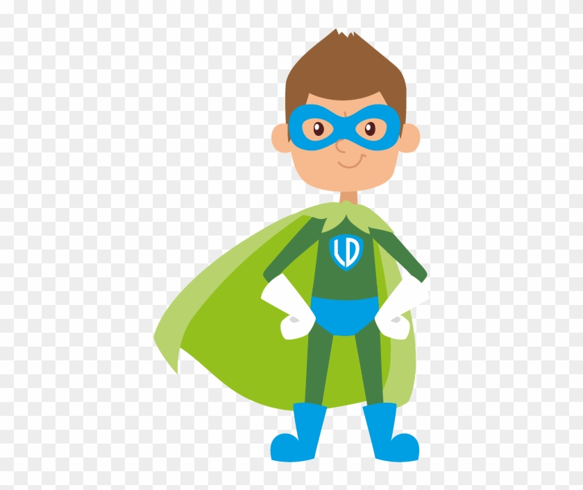 Captain Logic - Kids Superhero Vector #575166