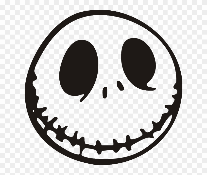 jack skellington the nightmare before christmas jack skellington face clipart - Christmas Jack Skellington