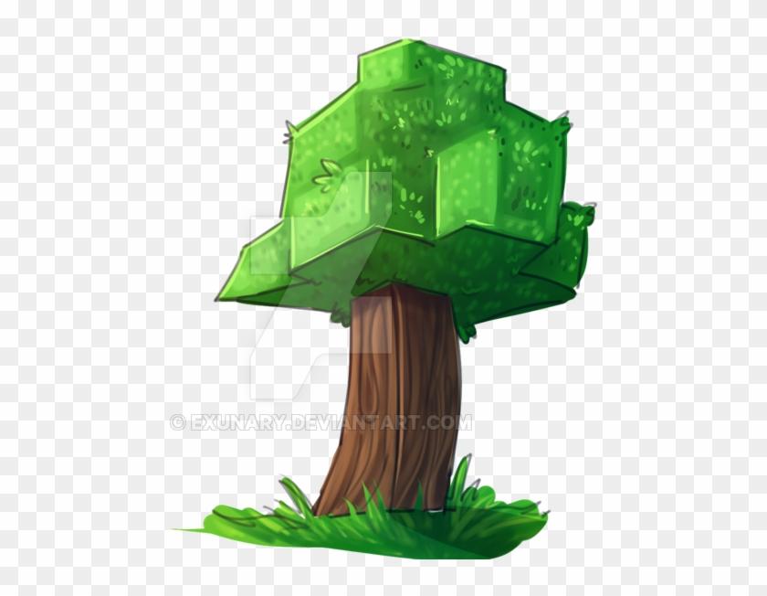 масла картинка дерева из майнкрафта того