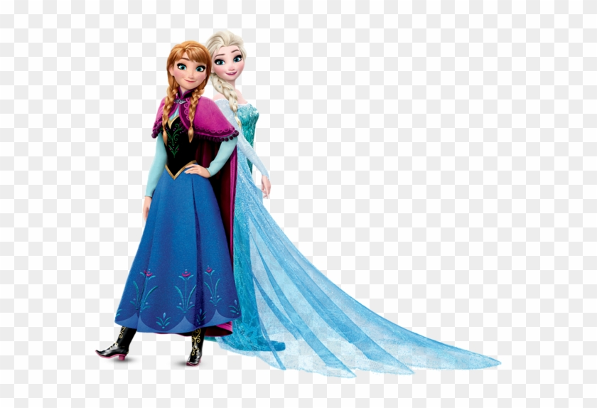 Anna And Elsa Frozen Transparent Png Image - Elsa And Anna Png #575545
