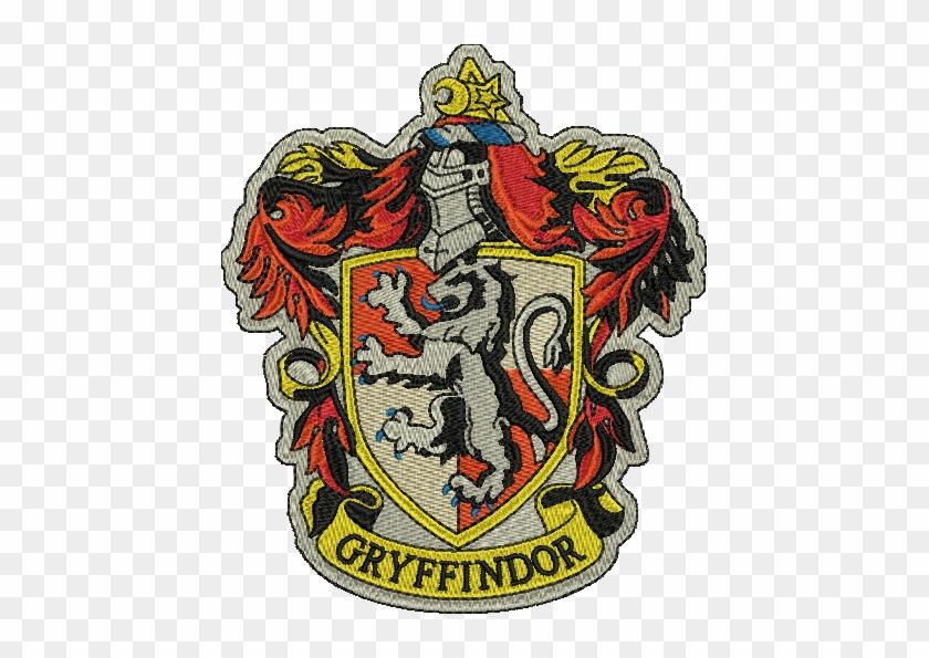 Gryffindor harry potter embroidery designs instant harry - Gryffindor crest high resolution ...