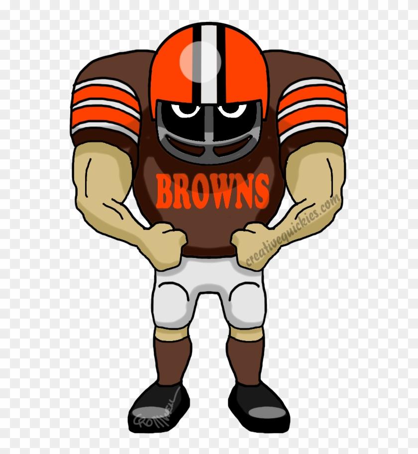 Cleveland Ohio Browns - Dallas Cowboy Football Player