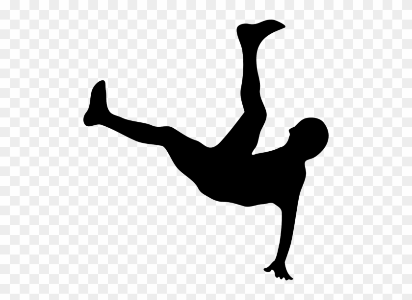 Breakdance,bicycle Vector Graphics - Person Falling Clip Art #576764