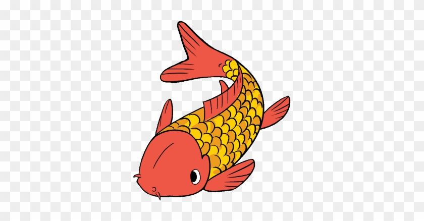 How To Draw A Koi Fish Really Easy Drawing Tutor - Draw A Koi Fish Step #577014