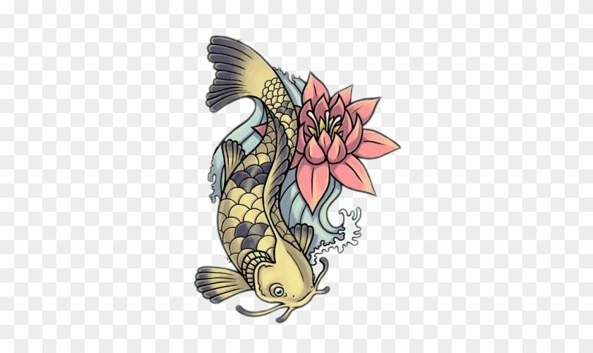 Carpa Sticker Koi Fish Tattoo Designs Free Transparent Png