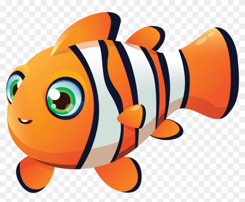 Gary The Clownfish - Coral Reef Fish #577584