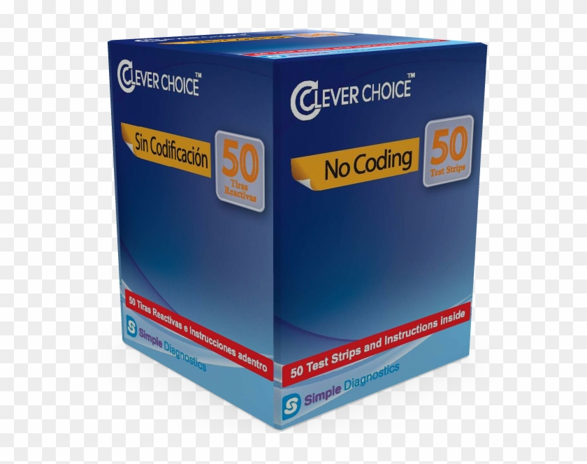 Clever Choice Auto-code Voice Glucose Test Strips - #577588