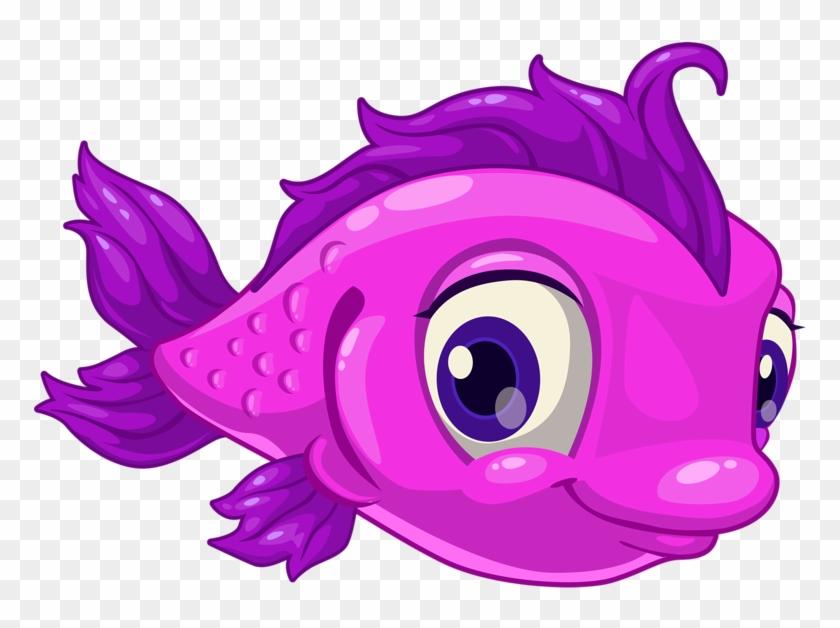○•‿✿⁀ocean Safari‿✿⁀•○ - Cute Fish Cartoon #579236