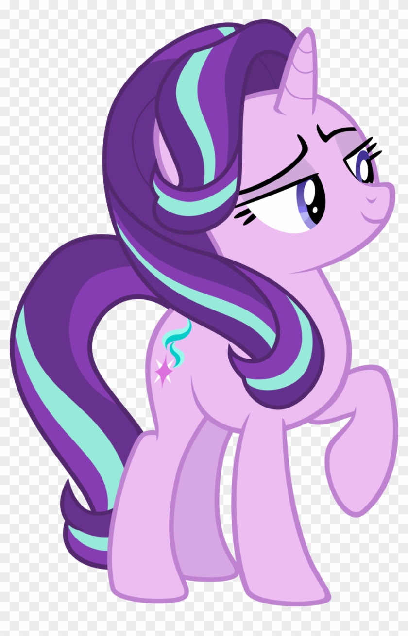 Tail Clipart Smug - My Little Pony Vector Starlight Glimmer 3 #579388