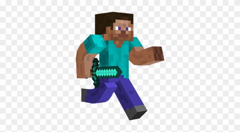 Minecraft Clipart Steve Running Transparent Background Minecraft