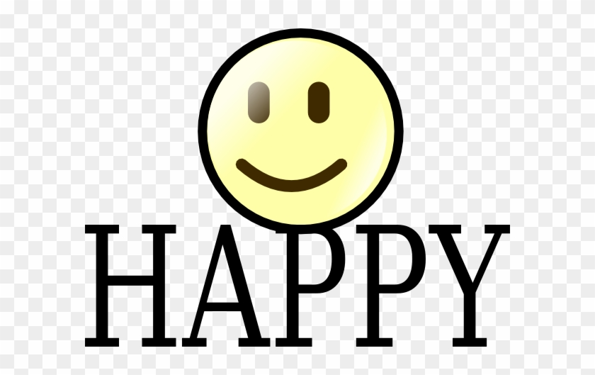 Happy Face Happy Clip Art At Clker - Louisville Free Public Library Logo #580249
