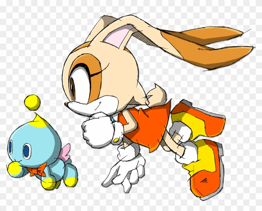 Cream The Rabbit And Cheese - Cream The Rabbit And Cheese #580354