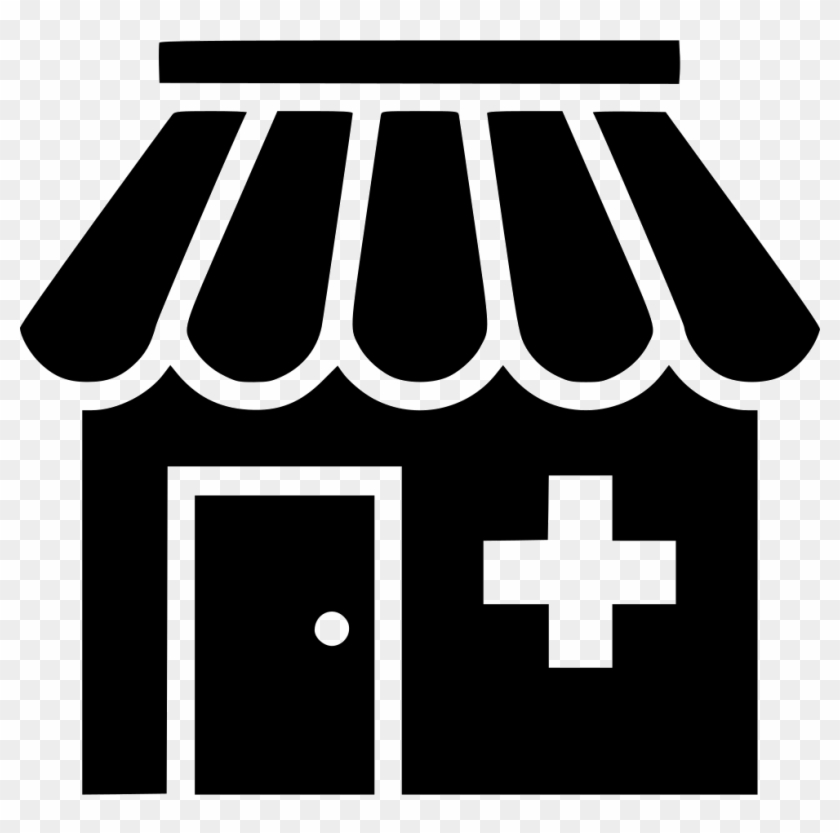 Pharmacy Clinic Hospital Drug Store Medical Comments - Medical Store Icon Png #580385