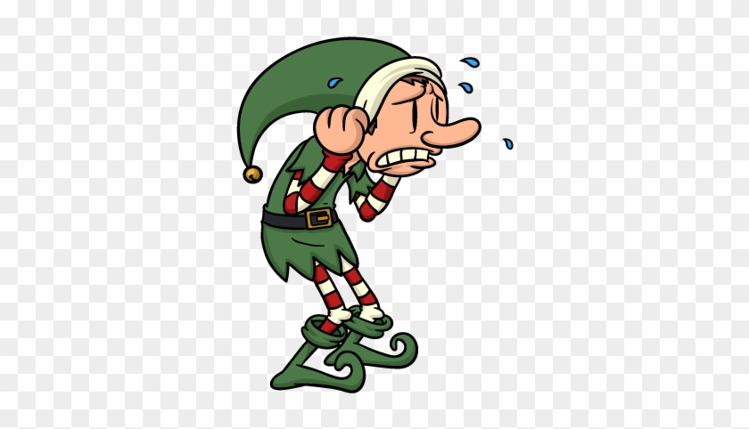 Christmas Elves Messages Sticker-8 - Elf #580564