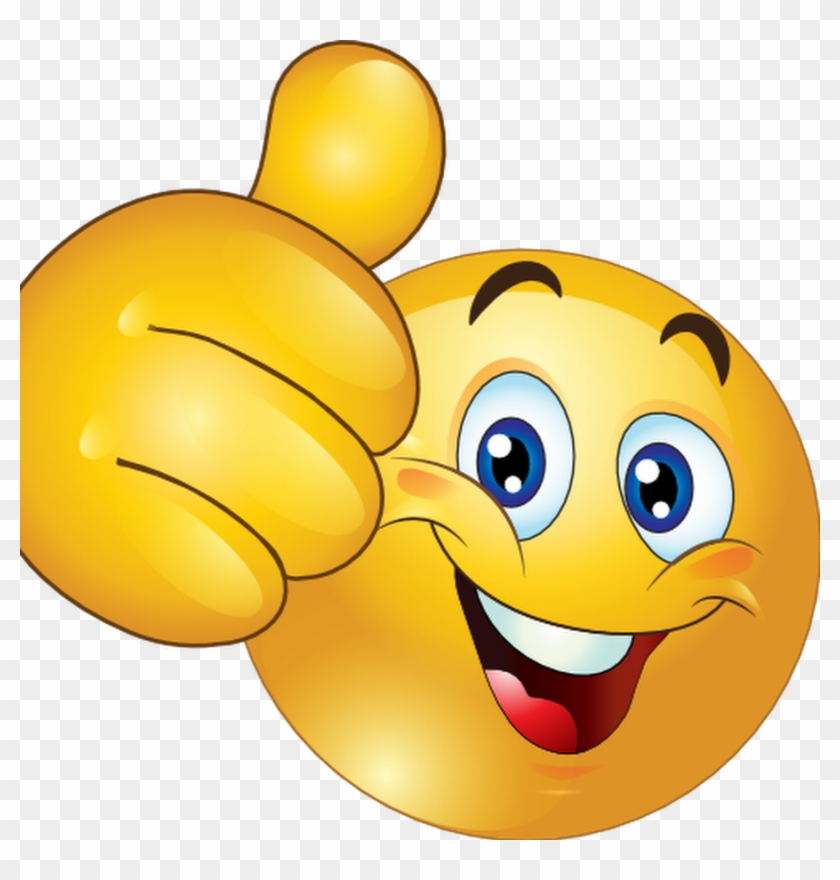 Smiley Emoticon Animation Clip Art - Thumbs Up Smiley Face #580657