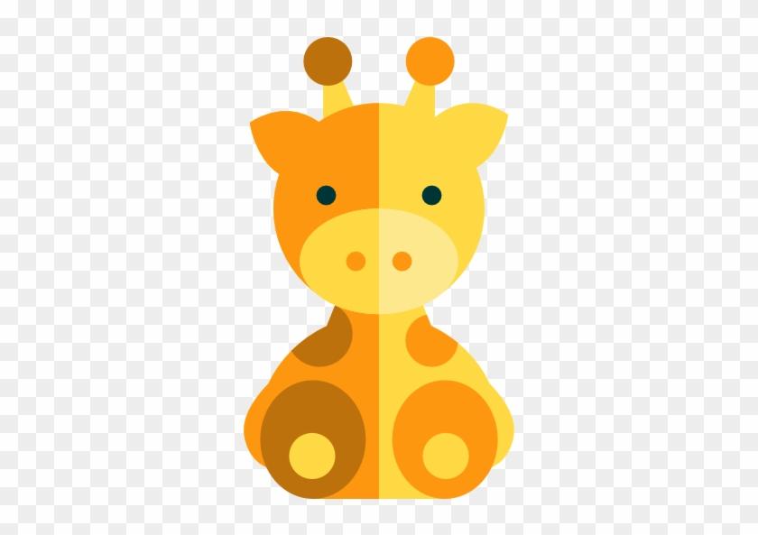 Giraffe Free Icon - Zoo Icon Baby Animals #580825