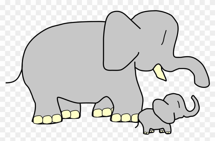 Elephant Head Outline 18 Large And Small Clipart Free Transparent Png Clipart Images Download
