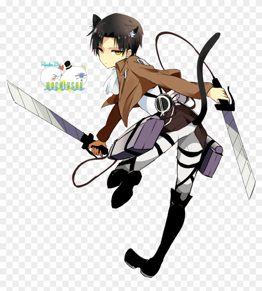 Image Result For Chibi Levi Cleaning Levi Kawaii Free Transparent Png Clipart Images Download