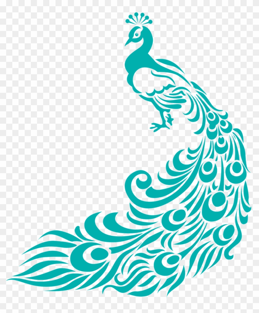 Home Decor Large Size Simple Peacock Designs Clipart   Border Design For  Assignment #580997